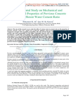 Experimental Study on Mechanical and Hydrological Properties of Pervious Concrete  With Different Water Cement Ratio.pdf