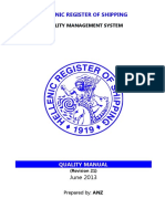 ISO 17020_2012 SAMPLE QUALITY MANUAL
