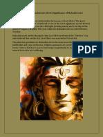 Celebrate Mahashivratri 2018   Significance of Mahashivratri