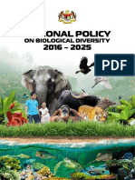 National Policy on Biological Diversity 2016-2025