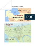 Map Municipality of Lingayen