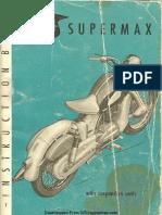 NSU Supermax Manual