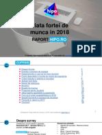 Piata Fortei de Munca in 2018 National