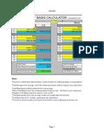 Cost Basis Calculator