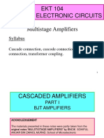 Multistage Amplifier (CASCADE)