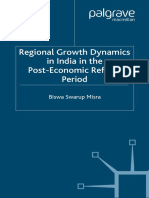 Biswa Swarup Misra-Regional Growth Dynamics in India in the Post-Economic Reform Period (2007)