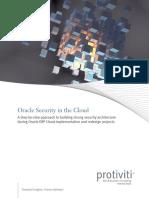 Oracle Security in the Cloud Protiviti