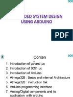 embeddedsystemdesignusingarduino-161008064345