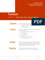 Module 6 - Torsion