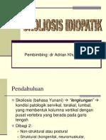 Referat Skoliosis