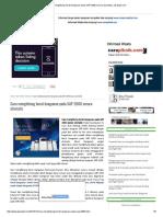 Cara Menghitung Berat Bangunan Pada SAP 2000 Secara Otomatis _ Jasasipil.com