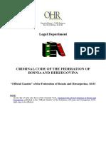 Fbih Criminal Code New[1]