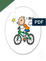 bici dibujo