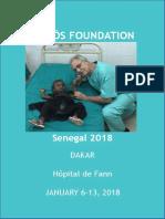 Humanitarian trip Senegal 2018