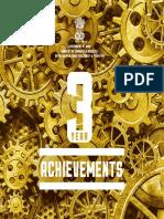 3 Year Achievement E-book