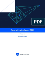 Remote Data Replicator (RDR) V6.1 User Guide