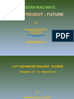 PAKISTAN RAILWAYS - PAST – PRESENT AND CPEC