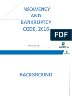 Insolvency & Bankruptcy Code PPT