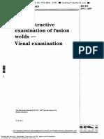 BS en 970 (Visual Examination)