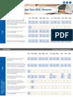 Calendar Taxe  comprimat