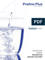 Proline Plus Reverse Osmosis System Generic Manual