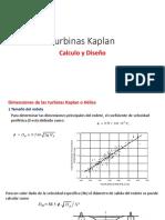 Calculo y Diseño Turbina Kaplan