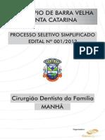 Cirurgião Dentista Da Família