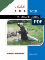 Tai Chi Apeldoorn Handboek 'Bron van Geluk'