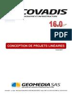 COVADIS v16 - 5 - Projets Linéaires