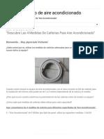 """Servicio Técnico de Aire Acondicionado_ """"Descubre Las 4 Medidas de Cañerías Para Aire Acondicionado"""""""