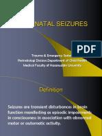 23. Neonata Seizures