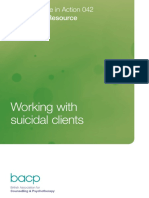BACP - Working with Suicidal Clients