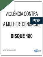 Placa Violência Contra Mulher1