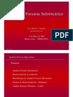 Analisis forense