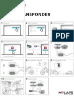 x 2 Transponder Quick Start Guide