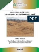 Recuperação de Áreas Degradadas No Semiárido do Estado do Ceará