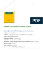 Biotype Diets System-JNEM