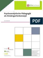 Psychoanalytische Pädagogik Als Kindergartenkonzept (Linda Eich)