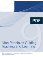 9 Principles