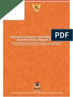 BNPB 2016 Indonesia Disaster Risk Management Baseline Status Report 2015