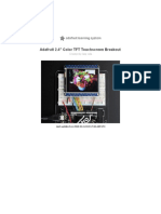 Adafruit 2 4 Color Tft Touchscreen Breakout