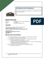 Resume.rahmad 2016