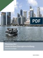 Planung Der Elektrischen Energieverteilung - Technische Grundlagen