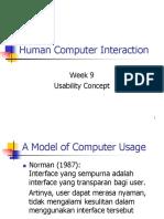 Usability Concept