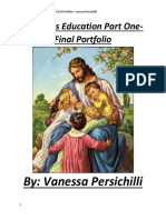 Final Portfolio Vanessa Persichilli Religion Part 1