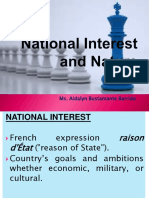 IPD 2-National Interest