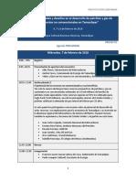 180122 Agenda Foro Para Yacimientos No Convencionales en Tamaulipas Pg