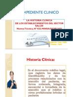 Expediente Clinico-kardex y Notas de Enfermeria