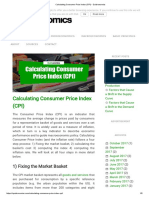 Calculating Consumer Price Index (CPI) - Quickonomics
