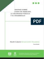 Reflexiones Sobre El Estado de Derecho, La Seguridad Jurídica y El Desarrollo.